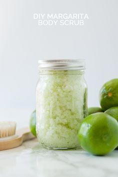 Homemade margarita body scrub recipe
