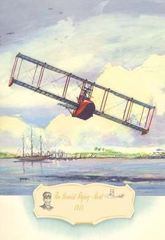 Biplanes or planes with Double sets of Wings during the period of early aviation