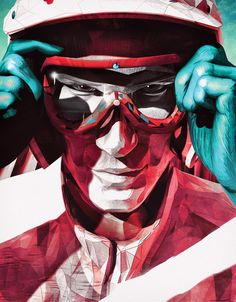 Driven | Sporting Heroes #1 by Vault49 , via Behance
