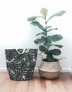 Laundry Hamper, Planter Pots, Basket, Fabric, Handmade, Tejido, Clothes Basket, Laundry Bin, Baskets