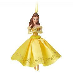 Disney Store 2016 Beauty and The Beast Belle Variant LE Sketchbook Ornament NIB