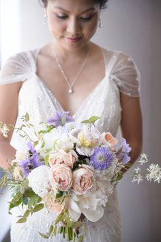 Romantic Summer Chicago Wedding at Salvage One - Style Me Pretty