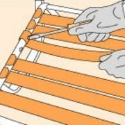 how to repair the vinyl strapping on a lawn chair porch and patio rh pinterest com how to replace patio chair straps Sunbeam Patio Furniture Replacement Straps