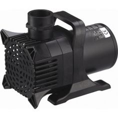 Algreen's MaxFlo WaterFall Pumps all have magnetic driven motors for extended life and increased durability. This MaxFlow, Pumps Gal. Per Hour, is for under water use and is ideal for an impactful Waterfall. The pumps can be positioned vertical Koi Pond Pumps, Pool Pumps, Pond Waterfall Pump, Pond Kits, Garden Pond Design, Landscape Design, Building A Pond, Waterfall Building, Diy Pond