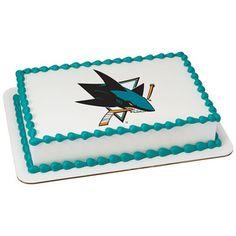NHL San Jose Sharks® PhotoCake® Image