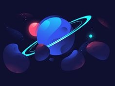 Planet by Maxime Bourgeois #Design Popular #Dribbble #shots