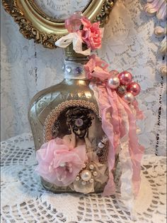 Hey, I found this really awesome Etsy listing at https://www.etsy.com/listing/224108038/reserved-for-angelica-altered-bottle