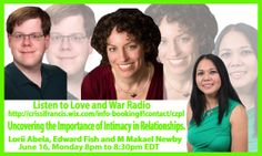 Tune in to Love & War Radio http://crissifrancis.wix.com/info-booking#!love--war-radio/cm7i