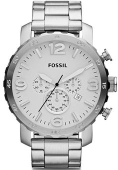 JR1444 - Authorized Fossil watch dealer - MENS Fossil NATE, Fossil watch, Fossil watches