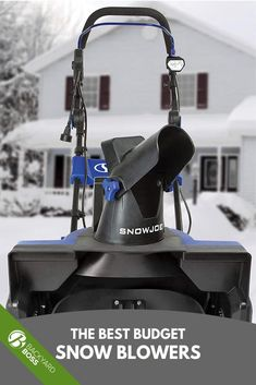 On a tight budget but want the most powerful, snow clearance options available? These cheap snow blowers are powerful, inexpensive options in order to clear snow quickly and efficiently this winter. The guide explains what to look for in a less expensive snow blower option and reviews each in detail. #snowremoval #snowblower #budgetsnowblower #cheap #affordable #snowthrower Lit Motors, Rock And Pebbles, Good And Cheap, Tight Budget, Best Budget, Winter Accessories, Budgeting, Backyard, Snow