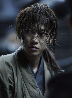 Takeru Satoh as Kenshin Himura. Rurouni Kenshin: The Legend Ends. Live action.
