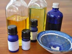 How to make an Aromatherapy Massage Oil