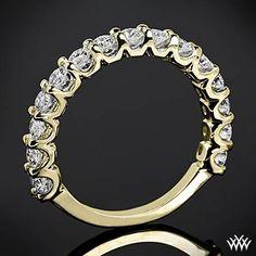Annette's U-Prong Diamond Wedding Ring