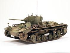 Miniart  –  35092 VALENTINE Mk IV RED ARMY w/CREW
