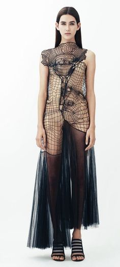 RESORT 2014 Christopher Kane - ok so not knit but could be..?