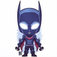 Chibi batman beyond by lordmesa Chibi Marvel, Marvel Dc Comics, Comic Books Art, Comic Art, Lord Mesa Art, Chibi Characters, Batman Beyond, Comic Pictures, Batman The Dark Knight
