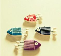 Broche poissons