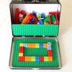 Portable LEGO Kit for Little Travellers