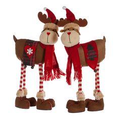 Single Red/Brown Standing Reindeer