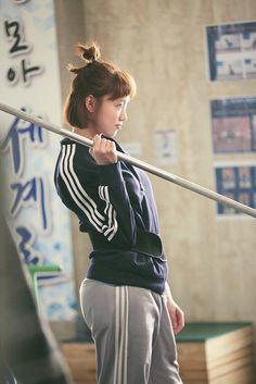 Nam Joo Hyuk Lee Sung Kyung, Jae Yoon, Weightlifting Kim Bok Joo, Weightlifting Fairy, Lee Sung Kyung Wallpaper, Weighlifting Fairy Kim Bok Joo, Joon Hyung, Korean Drama Stars, Swag Couples