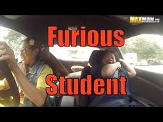 Undercover Professional Driver Freaks Out Rookie Driving Instructors With Her Insane Drifting Skills