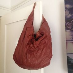Oversized boho bag Urban outfitters fux leather bag. Sewing by zipper is coming undone, as photoed. Can be fixed. A few areas were leather is peeling, as photoed. Vintage look. Urban Outfitters Bags Hobos