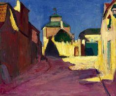 Henri Matisse 1869 - 1954 Une Rue À Arcueil 1903-4