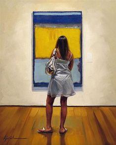 "Daily Paintworks - ""A 10"" - Original Fine Art for Sale - © Karin Jurick"