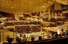 The beautiful Berlin Philharmonie