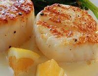 Garlic Scallops!