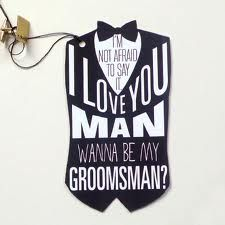 ideas for asking someone to be bridesmaid and groomsmen - Google Search