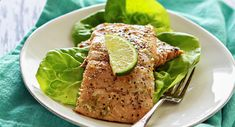 Grilled Lime Glazed Salmon... 1 T. Lime Juice, 2 T. McCormick® Herb with Lemon Seafood Rub, 1 tsp grated Lime Peel, 1 tsp Oil, 1 tsp Honey, 1 lb Salmon Fillets... Mix all ingredients, except fish, in small bowl. Spread evenly over fish. Grill, skin-side down, on MED heat 10-12 min until fish flakes easily with a fork. Serves 4. NOTE: Also good with swordfish and mahi-mahi.