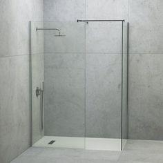 Shower Enclosure Kit, Walk In Shower Enclosures, Walk In Shower Tray, Stone Shower, Shower Fittings, Luxury Shower, White Shower, Modern Shower, Upstairs Bathrooms
