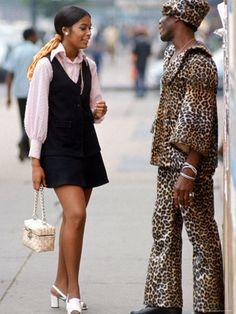 New York City fashion, 1969. Photo by Vernon Merritt III.