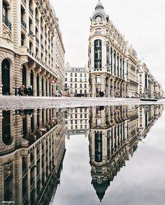 Reflecting Paris #Iphone #Paris #découvrirensemble #cettesemainesurinstagram