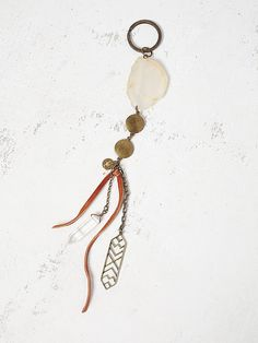 Love and Leather for Free People Misty Nights Keychain at Free People Clothing Boutique