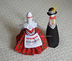 matulik81 / `svadobne flase` folklorne Folk, Handmade, Hand Made, Popular, Forks, Folk Music, Handarbeit
