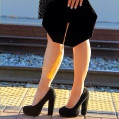 I would love this, but with classier heels!!!