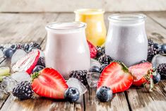 5 batidos de avena fáciles y rápidos - Adelgazar en casa Smoothie Diet, Smoothies, Yami Yami, All Body Workout, Natural Detox Drinks, Fat Burning Detox Drinks, Healthy Shakes, Panna Cotta, Healthy Recipes