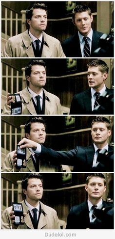 Cas and Dean..