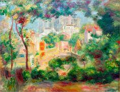 Gärten von Montmartre - Pierre-Auguste Renoir