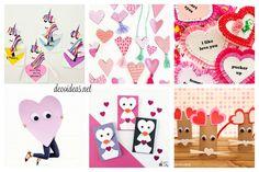 Las mejores manualidades de San Valentín para niños