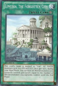 yugi oh lemuria, the forgotten city - Google Search