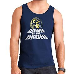 Dawn Of The Droid Star Wars Zombies Mens Vest *** You can find out more details at the link of the image.