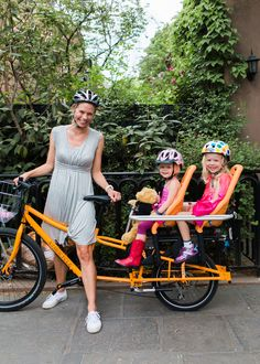 5 Awesome Family Bikes - really interesting! if only we lived in a bike-friendly area...