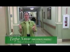 Such a wondeful teacher Teepa Snow is!