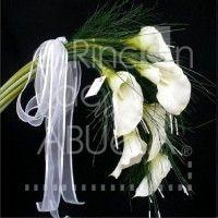 Ramo Alcatráz #ramo #novia #alcatraz #bride #flowers