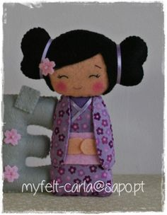 i like the idea of making tiny international dollies and matching flags for a quiet book page