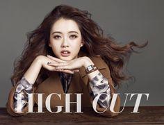 하이컷 - 패션, 뷰티, 대중문화 커뮤니티와 다채로운 이벤트 <HIGH CUT> 고 아 라 - Go Ara