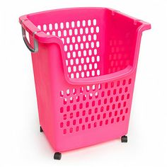 Tall Plastic Laundry Basket Delectable Rolling Laundry Basket With Wheels And Telescopic Handle  Buy Review